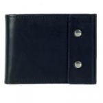 Кожаный кошелек Travel (black)
