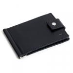 Кожаный зажим для денег Standart (black)